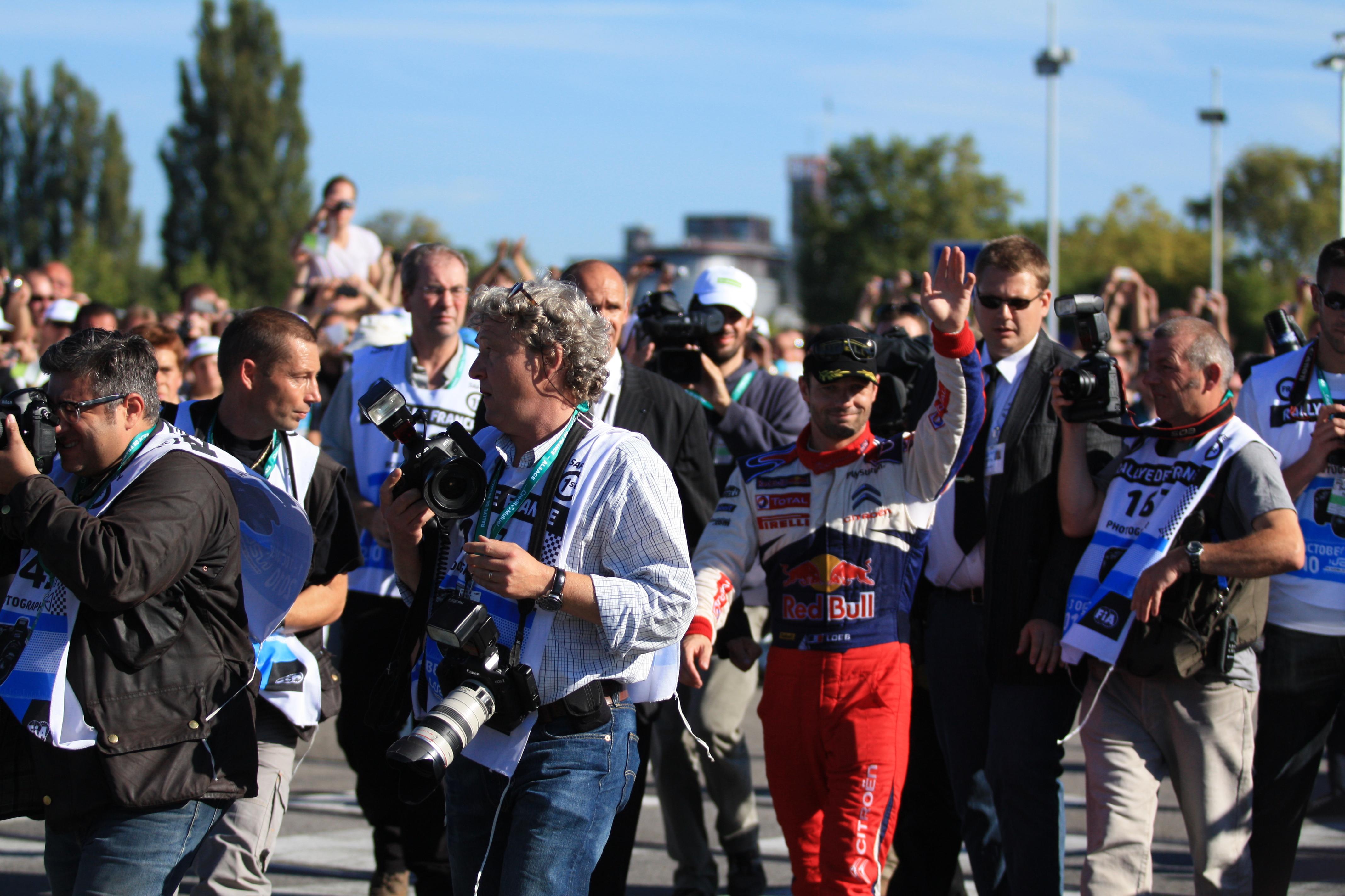 Reportage photographique d'évènement sportif au WRC réalisé par Alexis Zimmermann Photographe Professionnel à Strasbourg en Alsace