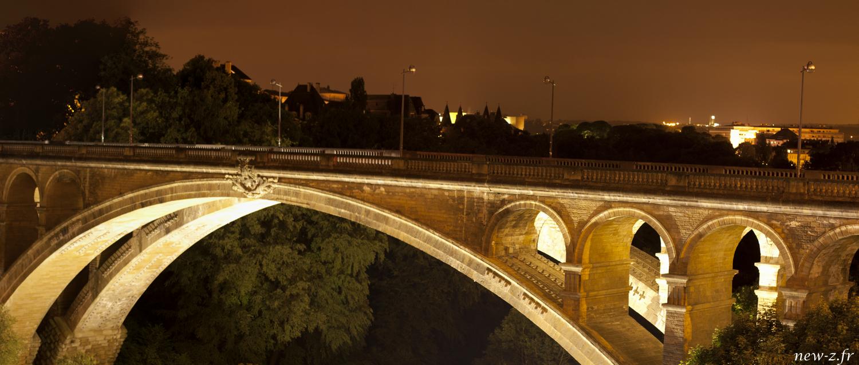 Reportage photographique d'architecture au pont des duchés du Luxembourg réalisé par Alexis Zimmermann Photographe Professionnel à Strasbourg en Alsace